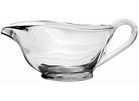Glass Gravy Boat
