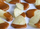 Caramel Dipped Potato Chips