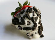 Cookies and Cream Covered Strawberries