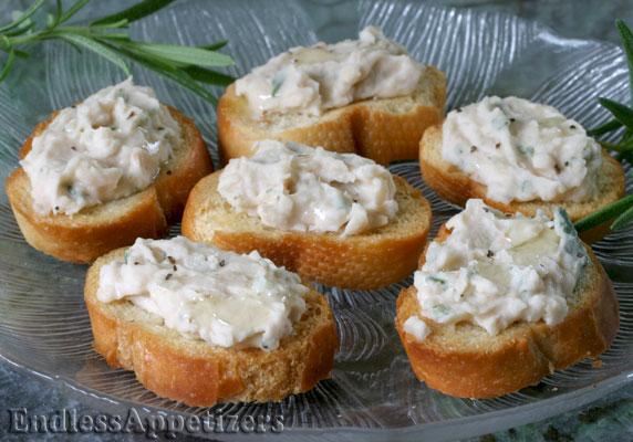 White Bean Bruschetta
