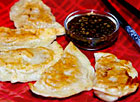 Pork Pot Stickers with Dipping Sauce