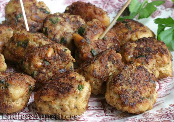 Turkey Meatballs with Pecorino Romano..